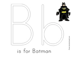 1 1 1 1 Batman Preschool Pack