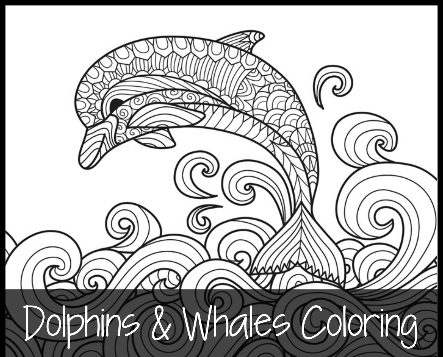 free coloring printables - Whale Coloring Pages