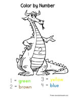 1 1 1 1 Dragon Preschool Pack
