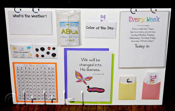Diy Calendar Homeschool : Calendar