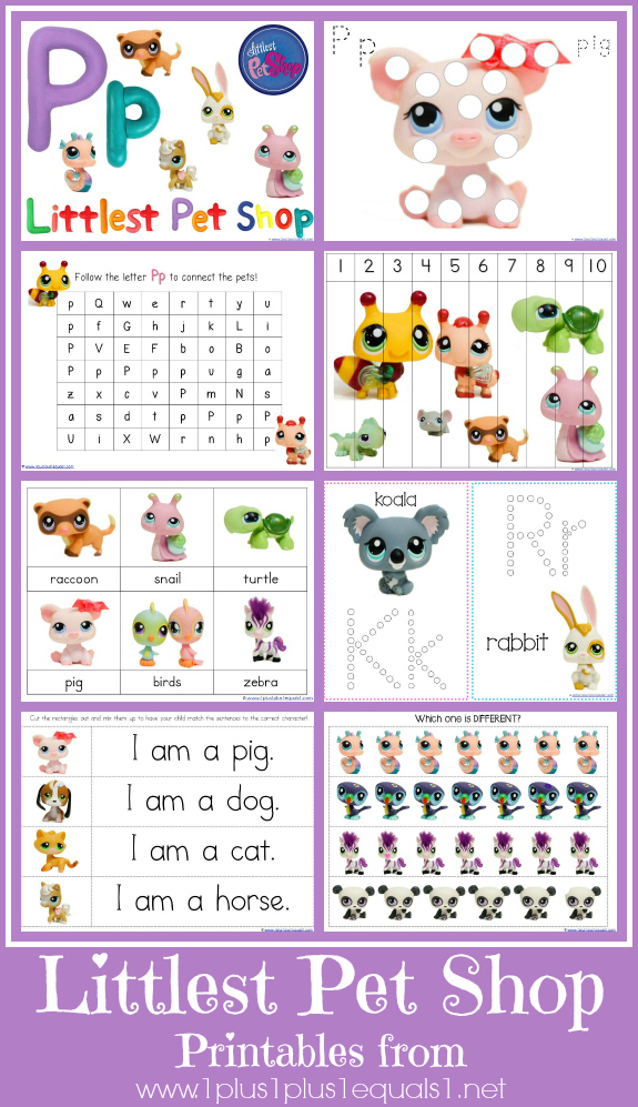 Littlest Pet Shop Printables