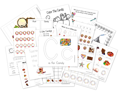Candy Preschool Pack